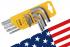 Jeu de clés coudées sur support série courte (pouce) AMF® n°911-HZ9D REF 44156