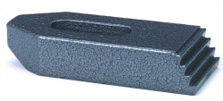 Bride droite pr cale crénelée n°6314Z 14mm X 100mm  acier