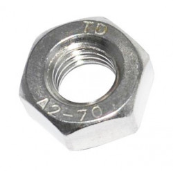 Ecrou hexagonal HU DIN 934 Inox A2