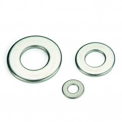 Rondelle plate série normale M NFE 25514 inox A2