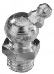 Graisseur genre «hydraulic» 45° DIN 71412 M6 X 1.00 inox 303 + bille inox 301