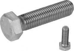 Vis tête hexagonale entièrement filetée ISO 4017 M8 X 1.25 X 20mm inox 316L80 BUMAX 88®
