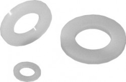 Rondelle plate_ série normale 'M' DIN 125 8mm nylon