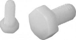 Vis tête hexagonale entièrement filetée DIN 933 M12 X 1.75 X 50mm nylon