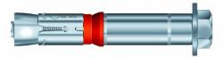 Boulon de sécurité SZ-S 12mm X 10mm X 85mm acier zingué MKT®
