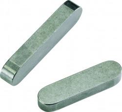 Clavette parallèle à bouts ronds DIN 6885 A 8mm X 70mm X 12mm acier C45K