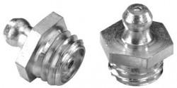 Graisseur Genre Hydraulic acier zingué blanc tête cémentée trempée DIN 71412