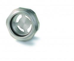 Indicateur niveau d'huile LUCIFER aluminium, Pyrex®