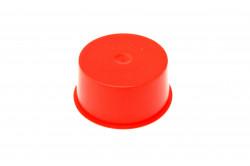 Bouchon de protection conique 36.1mm X 25.8mm rouge
