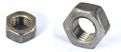 Ecrou hexagonal HU DIN 934 M6 X 1.00 acier cl.l8l